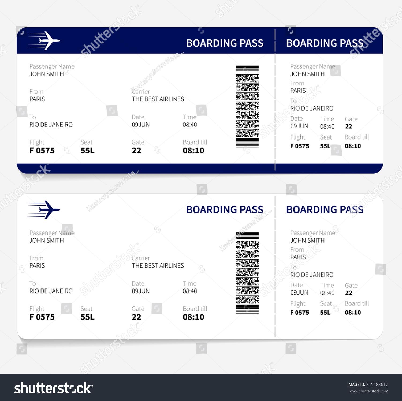 航空公司登机证票乘飞机旅行
