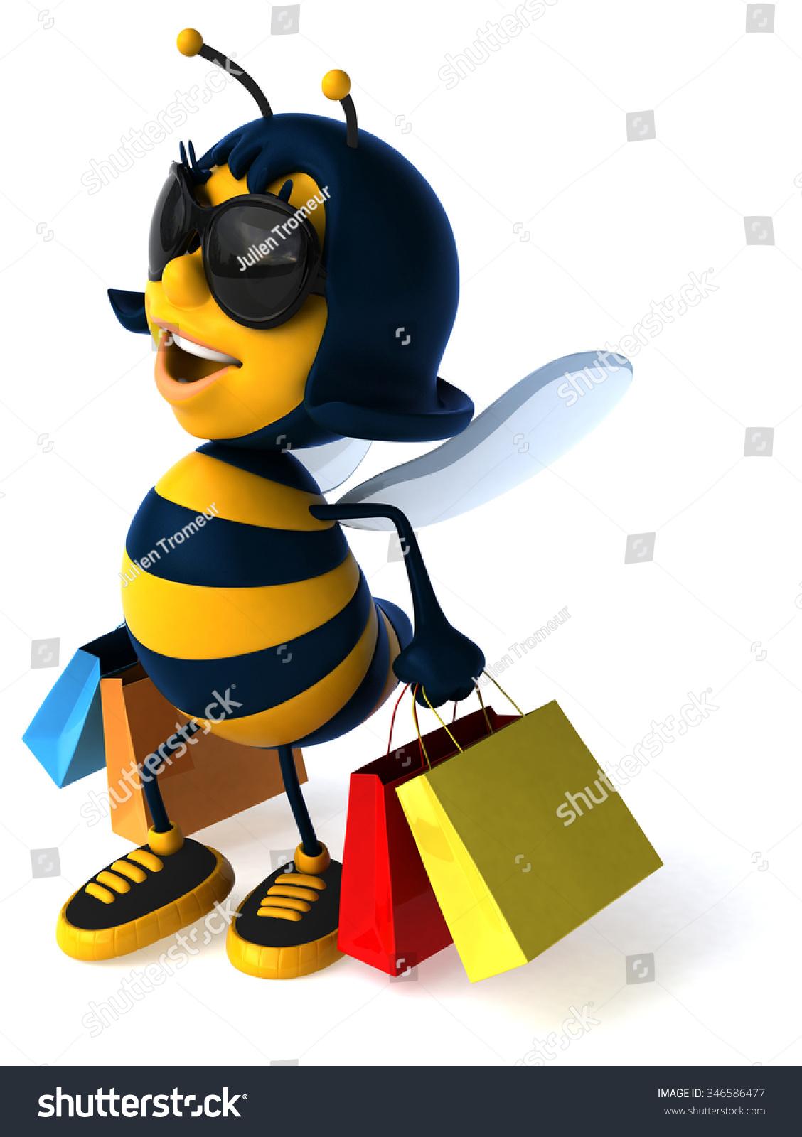 有趣的蜜蜂-动物/野生生物,符号/标志-海洛创意()-合.