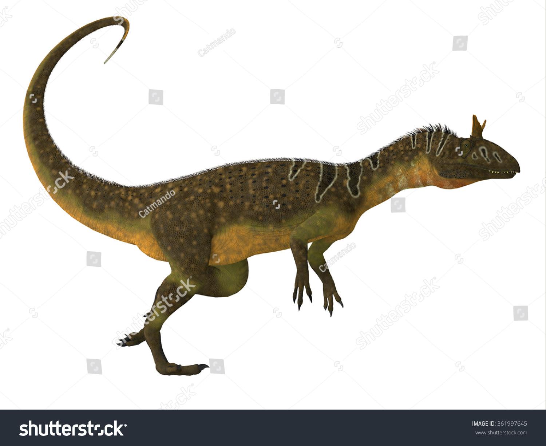 冰脊龙的恐龙侧视图-冰脊龙是一种大型的兽脚亚目