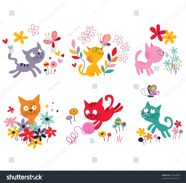 可爱的小猫-动物/野生生物