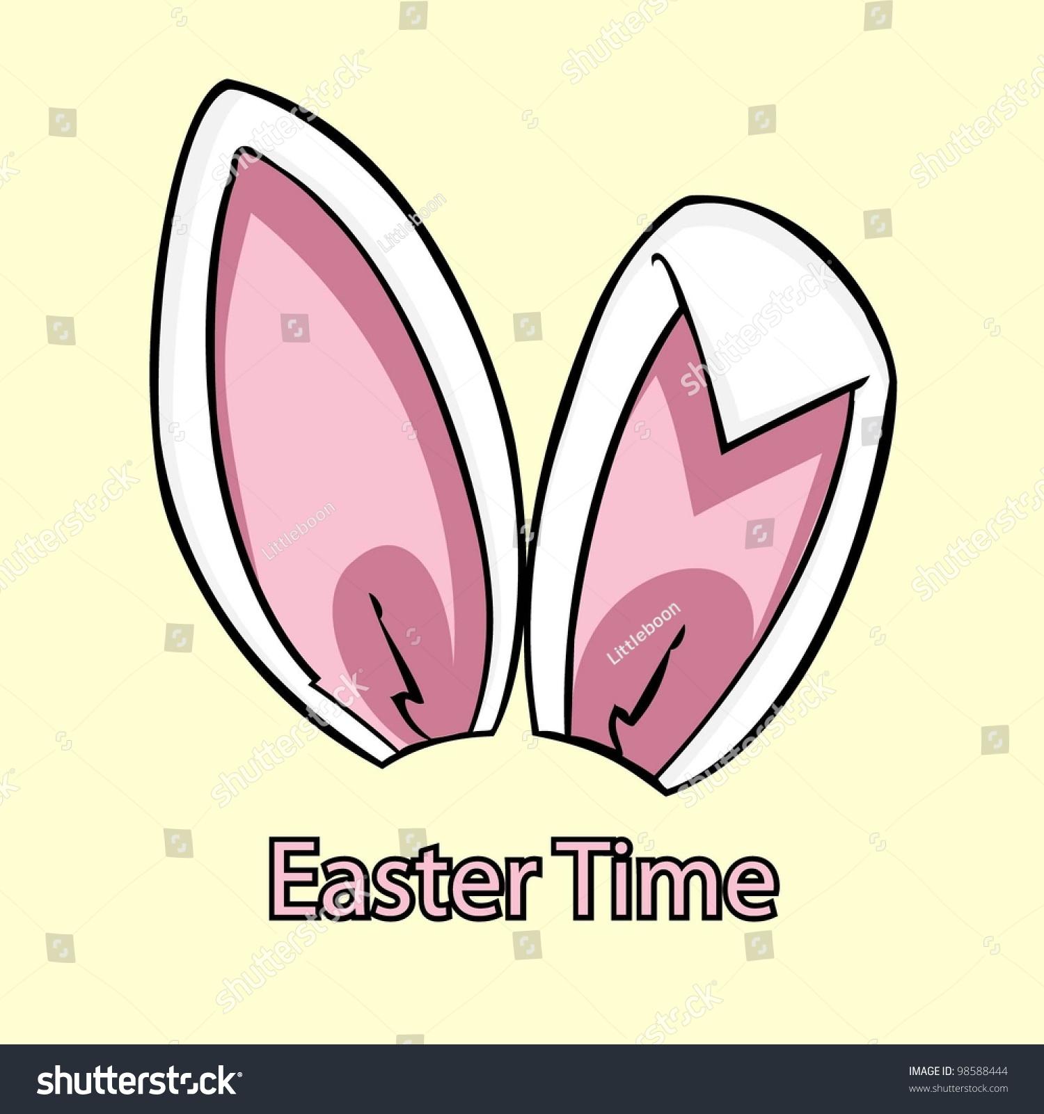 复活节兔子的耳朵-背景/素材,假期-海洛创意(hellorf)